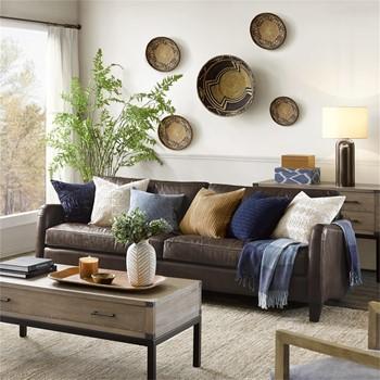 Donovan Leather Sofa