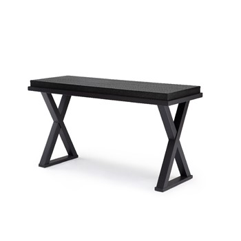 X Marks Console Table