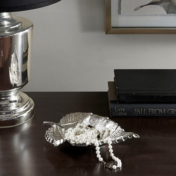 Feuille Silver- Maple Leaf Large Leaf Dish