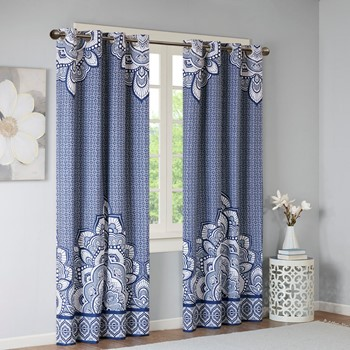 Isabella Printed Blackout Window Panel