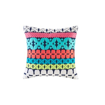 Mix & Match Embroidery Square Pillow