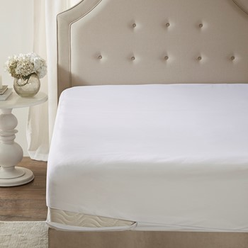 Copper Infused Micro Fiber Zippered Mattress Protector