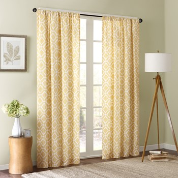 Delray Diamond Window Curtain