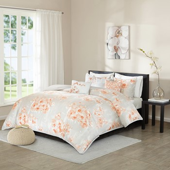 Cecelia 6 Piece Duvet Cover Set