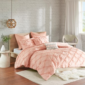 Talia 7 Piece Embroidered Comforter Set