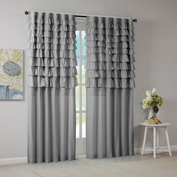 Waterfall Ruched Window Panel