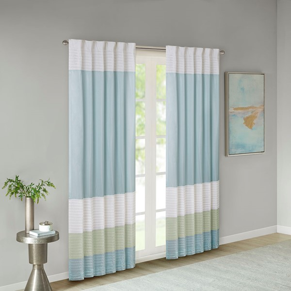 Amherst Polyoni Pintuck Window Curtain By Madison Park Designer Living
