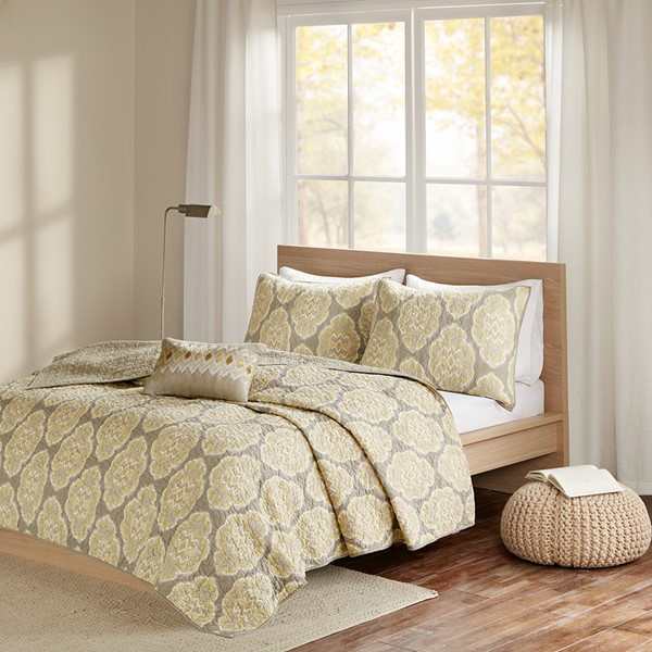 Madison Park Pure Sari Coverlet Set (Any Size)