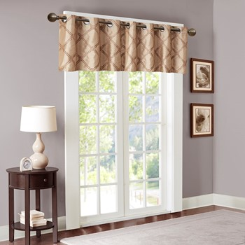 Teramo Embroidered Polyoni Window Valance