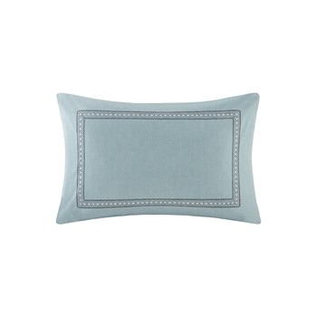Echo Design Larissa Embroidered Cotton Decorative Pillow