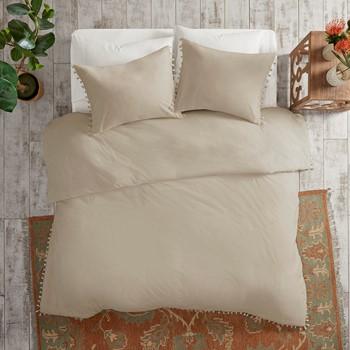 Lillian 3 Piece Cotton Duvet Cover Set