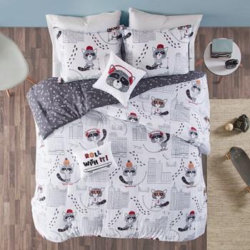 Cooper Cotton Reversible Comforter Set