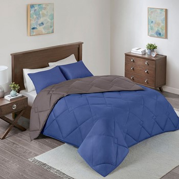 Vixie Reversible Down Alternative Comforter Set
