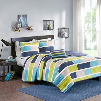 Bradley Reversible Coverlet Set