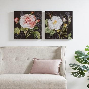 Restoration Rose Printed Canvas 2 Piece Set
