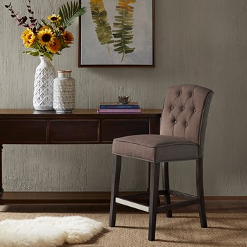 Marian Tufted Counter Stool