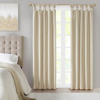 Emilia Twist Tab Total Blackout Window Curtain