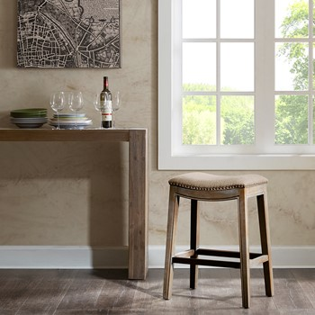 Belfast Saddle Counter Stool