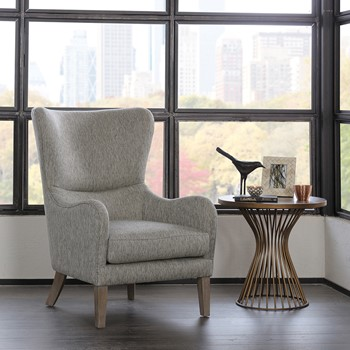 Arianna Swoop Wing Chair