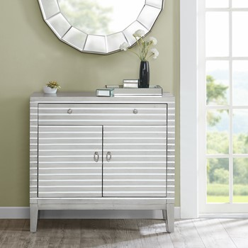 Barstow Mirror Stripe Accent Chest