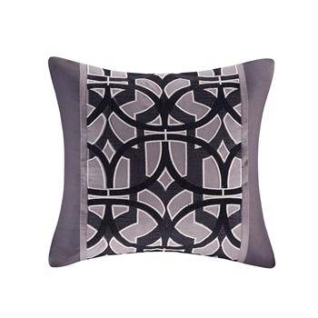 Abstract Stripe Square Pillow