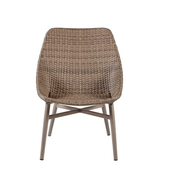 Gwen Outdoor Resin Wicker Dining Chair (Set Of 2)