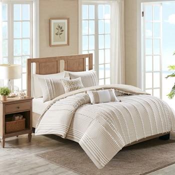anslee 3 piece cotton yarn dyed comforter set - Harbor House Bedding