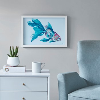 Finely Goldfish Frame Graphic