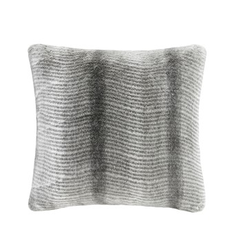 Serengeti Luxury Faux Fur Square Pillow