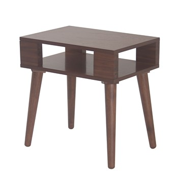 Jayce Mid Century Wood End table