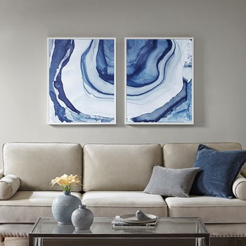 Ethereal Printed Framed Canvas Set of 2
