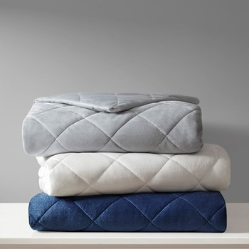 Luxury Quilted Mink Weighted Blanket