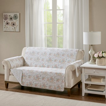 Serendipity Cotton Printed Loveseat Protector