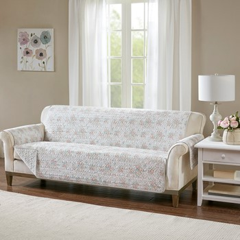 Serendipity Cotton Printed Sofa Protector