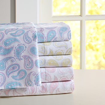 Paisley Cotton Sheet Set