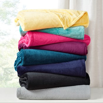 Microlight Plush Oversized Blanket