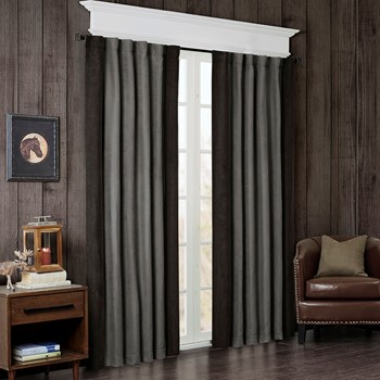 Watson Faux Suede Window Panel