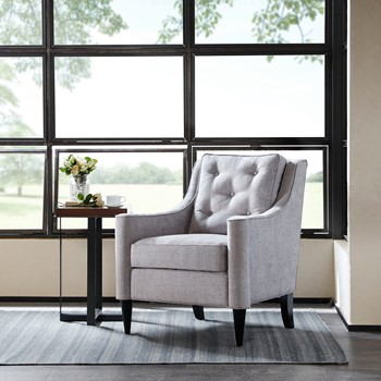 Adaline Rolled Arm Accent Chair