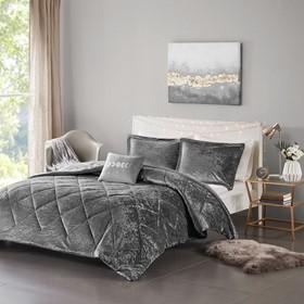 Felicia Velvet Comforter Set