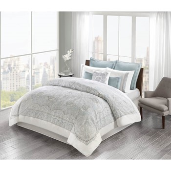 Larissa Cotton Sateen Comforter Set
