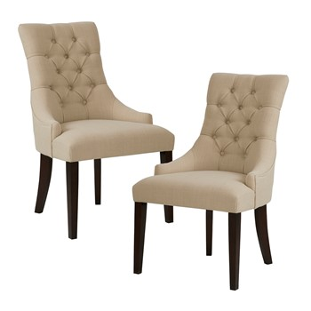 Corbel Tufted Back Dining Chair (Set of 2)