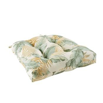 Coco Printed Leaf 3M Scotchgard Outdoor Seat Cushion