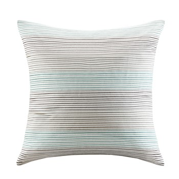 Cadence Cotton Embroidered Square Pillow