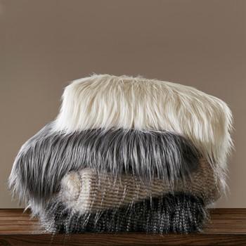 Edina Faux Fur Throw