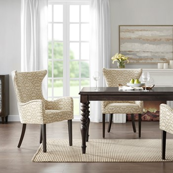 Angelica Arm Dining Chair (set of 2)