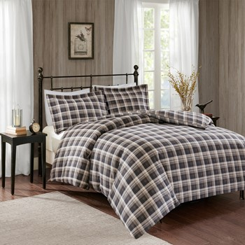 Tasha Flannel Comforter Mini Set