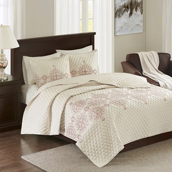 Constantine 3 Piece Coverlet Set