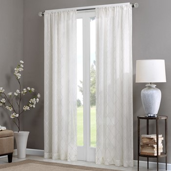 Irina Diamond Sheer Window Curtain