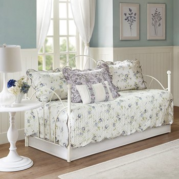 Lydia 6 Piece Cotton Reversible  Daybed Set