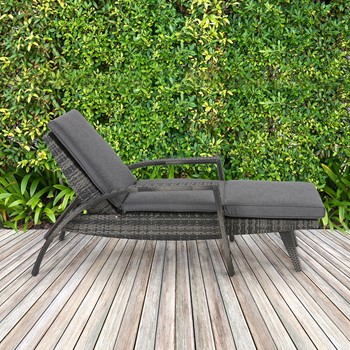 Anna Outdoor Lounge Convertible to Chaise
